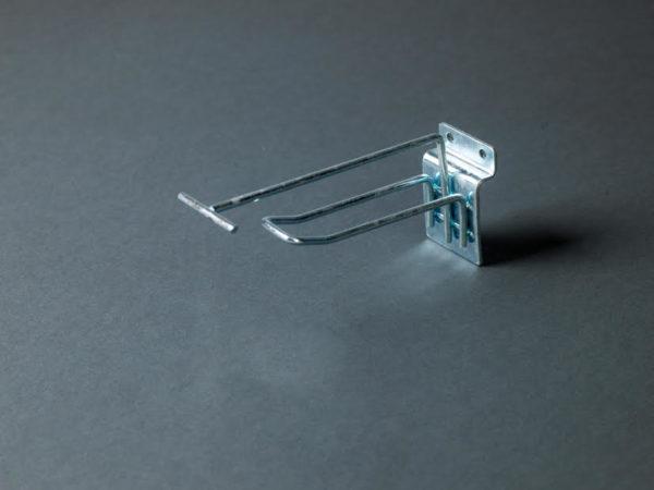 Broche blister double fil avec PE pour fond multi-lames
