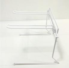 Présentoir métal de comptoir 2 broches 26 cm