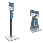 Distributeur de comptoir pour gel hydroalcoolique 1 litre